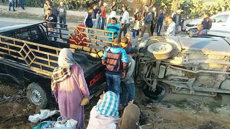 tunisie accident