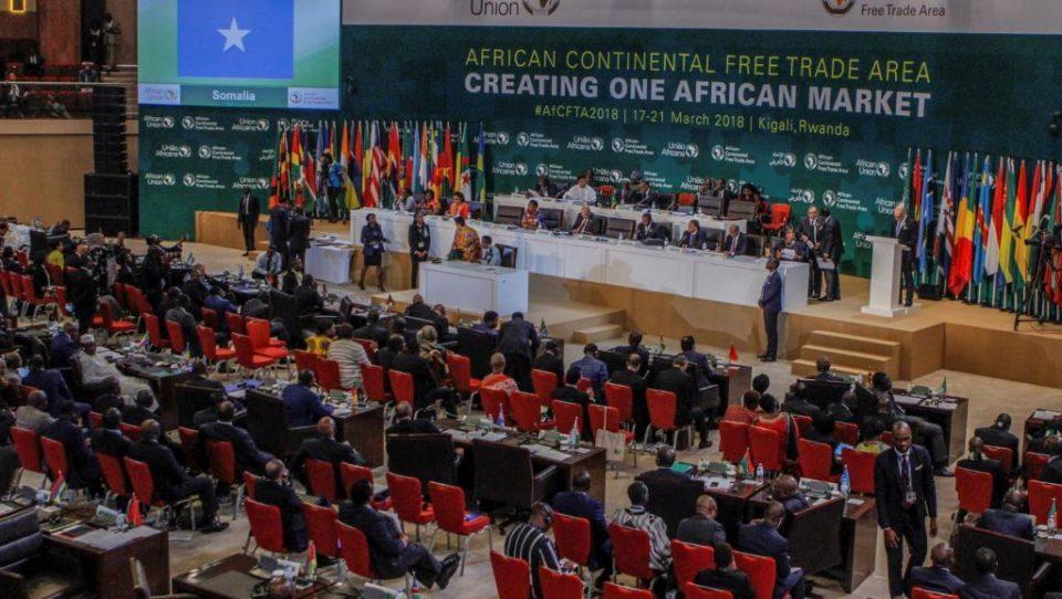 zone libre-échange en Afrique