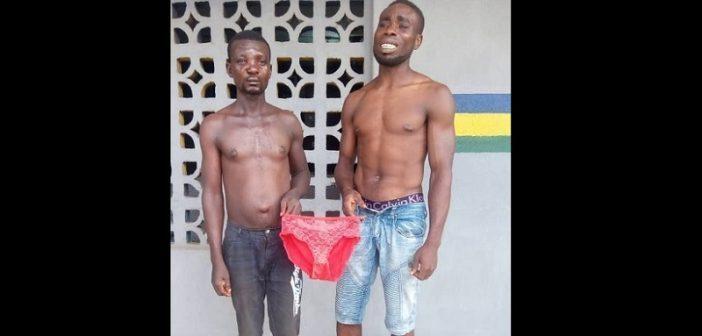 Nigeria 2 hommes arrêtés