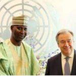 Tijjani Mohammed Bande président de l'assemblée générale de l'ONU