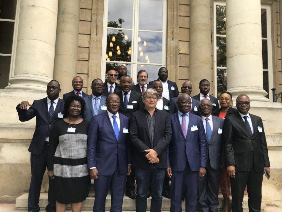 Les pro-gbagbo reçus à l'assemblée nationale Française