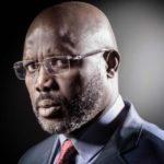 Libéria le président George Weah