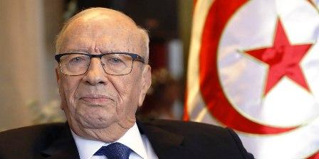 Béji Caïed Essebsi à l'hôpital militaire