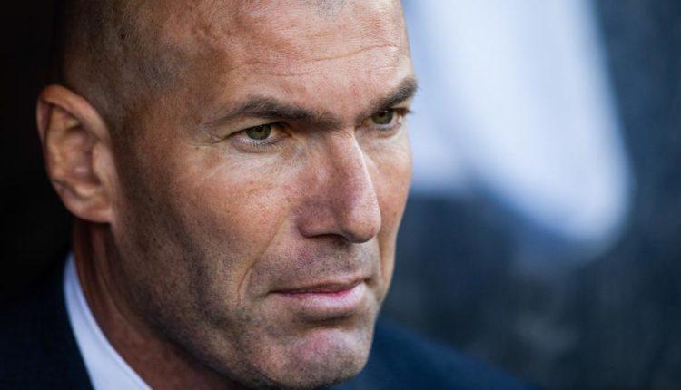 Real de Madrid Zinedine Zidane sur le point de départ?