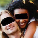 une africaine quitte son mari blanc