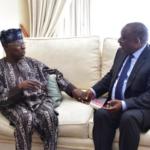 Cyril Ramaphosa a confié à Obasanjo