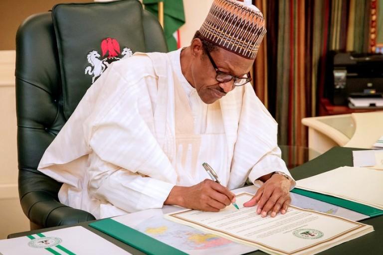 Nigeria Muhammadu Buhari valide la hausse de la TVA