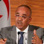 démission du premier ministre Nourredine Bedoui