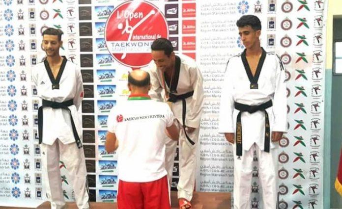 champion marocain de Taekwondo