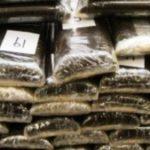 L'armée met la main sur plus d'une tonne de cocaïne