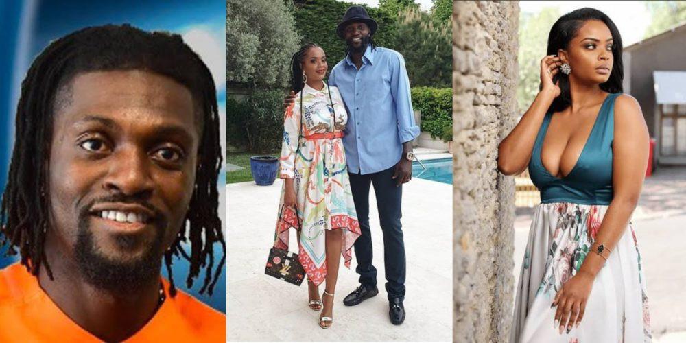 Emmanuel Adebayor et Dillish Mathews se séparent - AfroPlanete