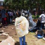 la police sud-africaine arrête 180 ressortissants étrangers