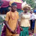 Un Garçon de 17 ans épouse une fille de 16 ans à Nnewi