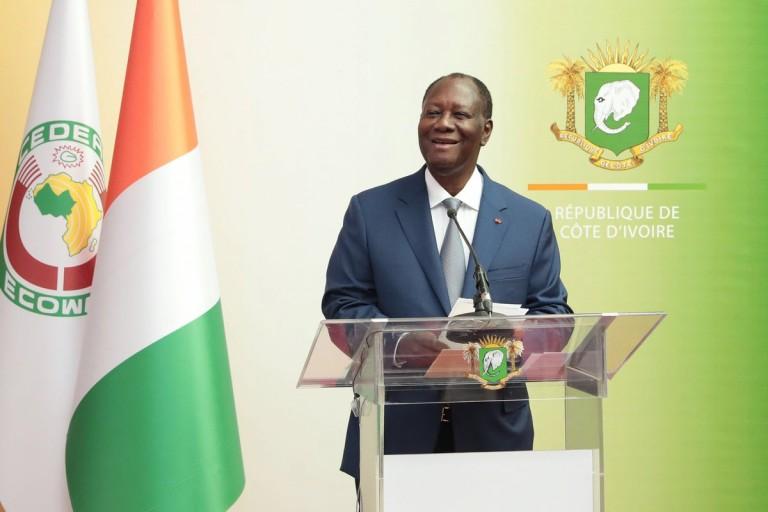 Monnaie Eco Alassane Ouattara rassure les ivoiriens de la diaspora sur la parité de la monnaie