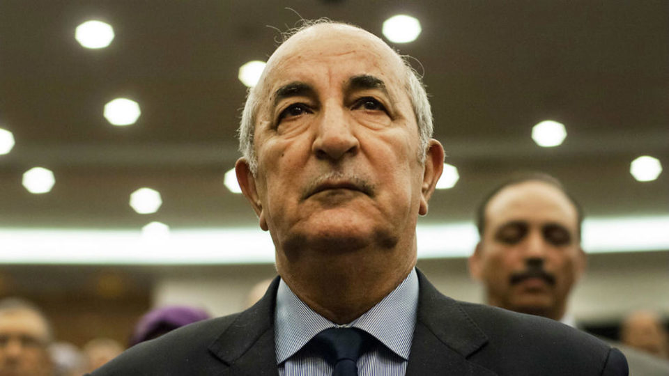 Abdelmadjid Tebboune accuse la France d'ingérence
