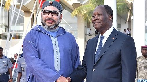 Mohammed VI en vacances à Abidjan dans une villa