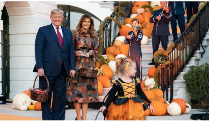 Halloween 2019 Donald et Melania Trump cruels avec cet enfant