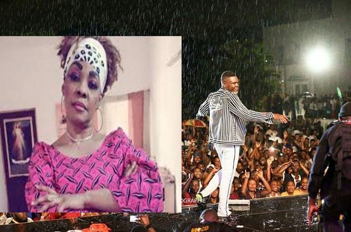 Tina Glamour la mère de Dj Arafat félicite Ariel Sheney