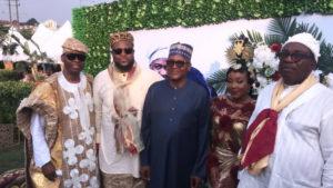Photos du mariage traditionnel du frère de Davido Adewale Adeleke avec sa fiancée, Ekanem