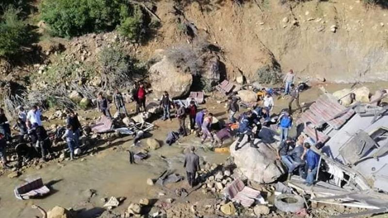 Catastrophe à Beja 22 morts et 21 blessés dans un accident de bus