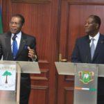 """A Abidjan Obiang Nguéma estime que le Franc CFA CEMAC est """"obsolète"""""""