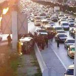 Tunisie Sept blessés dans le renversement d'un taxi collectif à l'Aouina