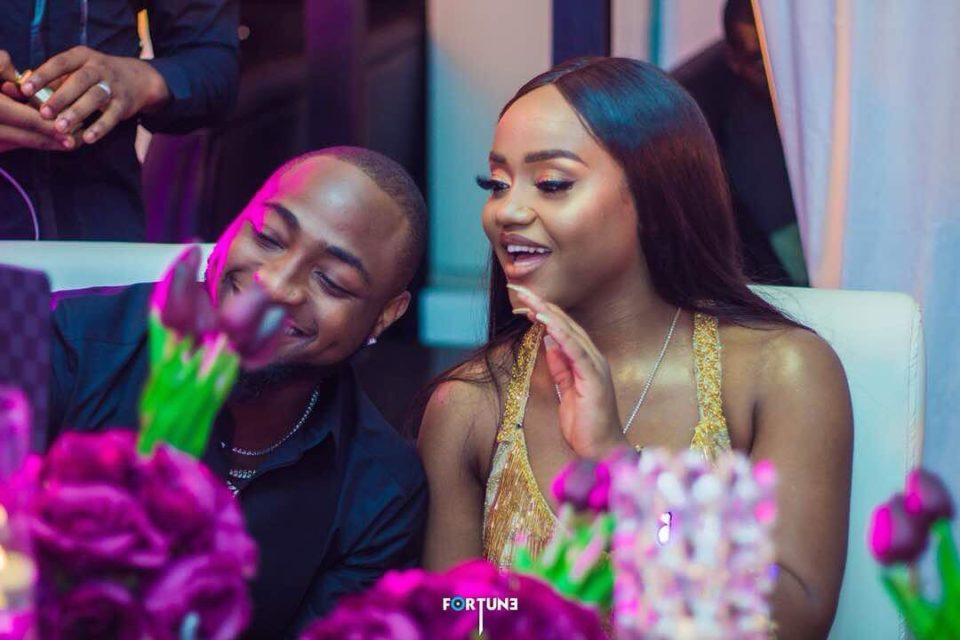 Nigéria brouille d'infidélité entre Davido et Chioma bientôt la rupture