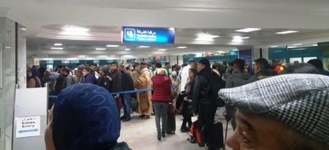Tunisie C'est la pagaille à l'aéroport de Tunis Carthage