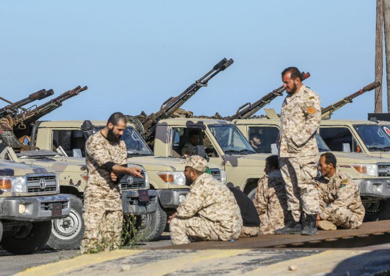Libye Entrée en vigueur d'un cessez-le-feu en réponse à l'initiative d'Erdogan et Poutine