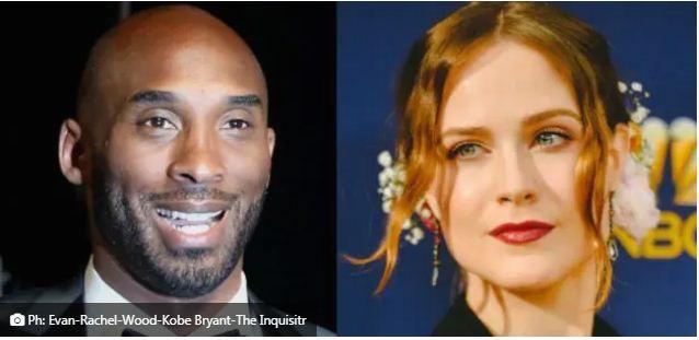 Mort de Kobe Bryant C'était aussi un violeur Evan Rachel Wood