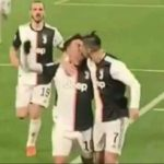 Le baiser accidentel entre Cristiano Ronaldo et Dybala, devenu viral sur le web (Vidéo)