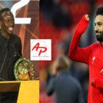 CAF Awards 2019 le message de Mohamed Salah après le sacre de Sadio Mané