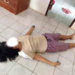 Une Mère de trois enfants étranglée à mort par son mari violent