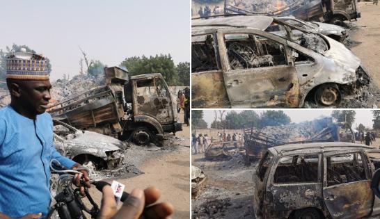 Nigéria Des membres présumés de Boko Haram tuent 9 voyageurs et enlèveraient de nombreux autres à Borno