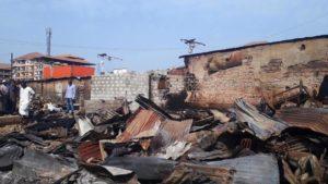 Guinée Conakry touchée par une inquiétante vague d'incendies