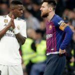 Clasico Vinicius Jr efface un record légendaire de Lionel Messi
