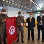 Retour des médecins militaires tunisiens en mission en Italie