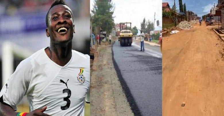 Ghana Asamoah Gyan prend en charge les frais de construction d'une route principale