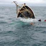 """Tunisie Sfax Naufrage d'un bateau de migrants """"un mort et 12 secourus"""""""