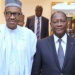 FCFA à ECO: Le président Nigérian Muhammadu Buhari tacle durement Alassane Ouattara