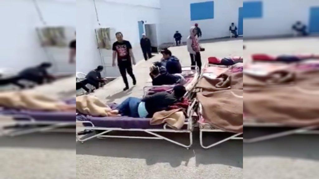 Tunisie Wardia des dizaines de migrants détenus dans un centre illégal