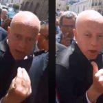 Tunisie - La tension monte entre Kais Saied et des Tunisiens manifestant à Paris pour la situation à Tataouine (vidéo)