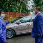 L'Ethiopie dévoile sa première voiture électrique