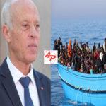 """Tunisie - Immigration: Kais Saied """"des équipements de haute technologie, pour assurer la surveillance nocturne des côtes"""""""