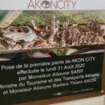 Première pierre posée pour Akon City, ville du futur au Sénégal