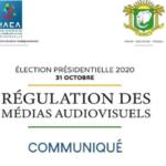 Côte d'Ivoire - Présidentielle 2020: Régulation des médias, communiqué de l'HACA