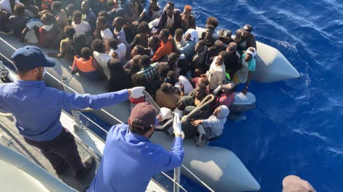 Au moins 20 morts dans le naufrage d'un bateau de migrants au large de la Libye