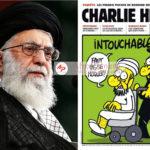 """Le chef suprême iranien, Khamenei, déclare que les caricatures du prophète Mohammed republiées dans un magazine satirique français sont """"impardonnables ''"""