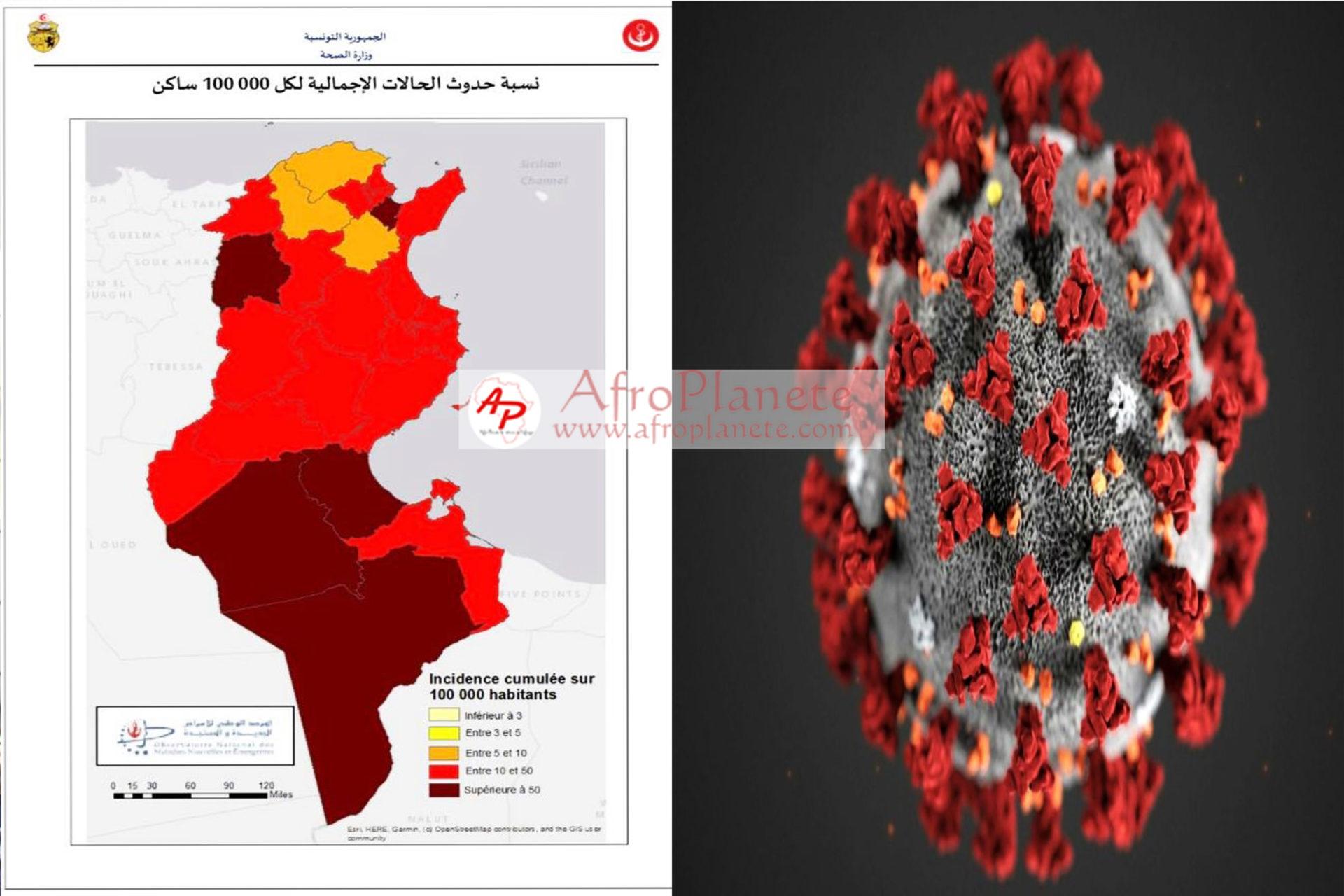 Tunisie - Coronavirus: La liste des gouvernorats classés sur la liste rouge
