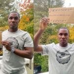 L'attaquant de Manchester United, Odion Ighalo, soutient ses frères nigérians et rejoint la campagne #EndSARS (Photos)